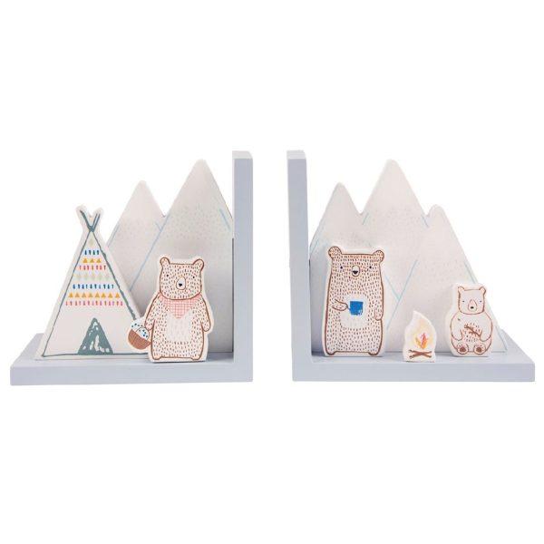 Bookends bear camp