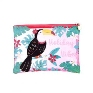 Pouch tucan holliday vibes