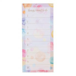To do list magnetic, multicolor 1
