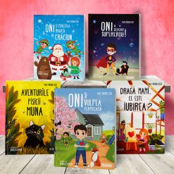 Special: Pachet 5 carti pentru copii Vasi Radulescu + 5 bonusuri